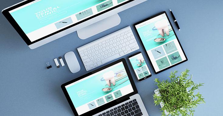 Un buen diseño de sitio web dental puede convertir el tráfico en línea en pacientes que pagan