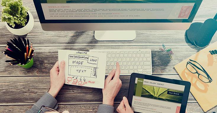 La diferencia entre el diseño web con plantilla y el personalizado